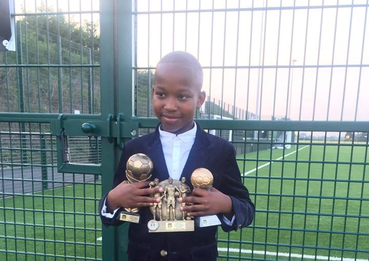 9-yr- old Salone soccer prodigy voted Best Player at English Club