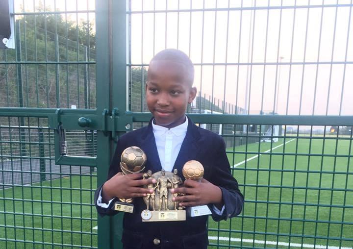 9-yr- old Salone soccer prodigy Sanusie Jabbie
