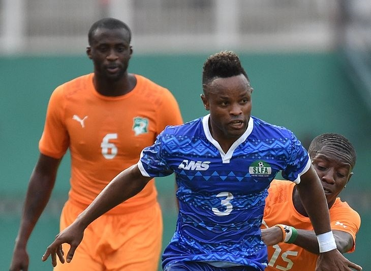 Sierra Leone defender Sheriff Suma retires from international football