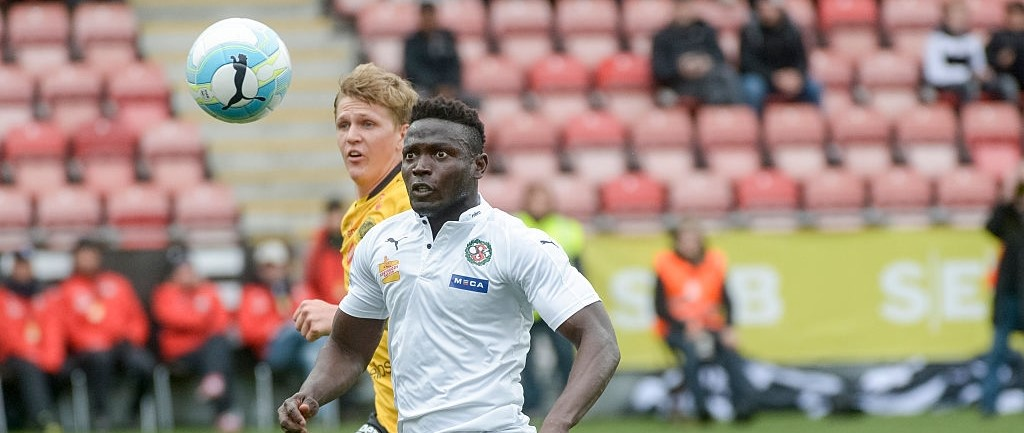 Sierra Leone striker Alhassan 'Crespo' Kamara obtains Swedish Citizenship