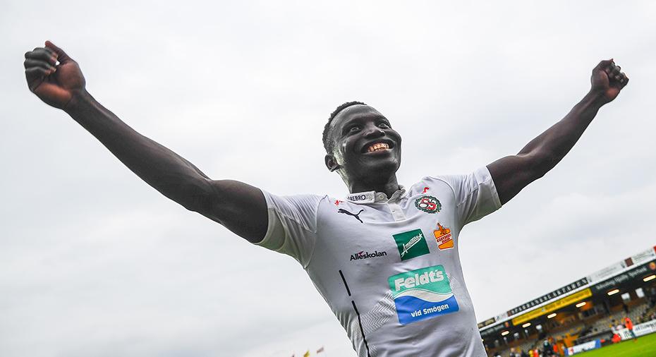 BK Hacken new boy Kamara set for debut at Helsingborg
