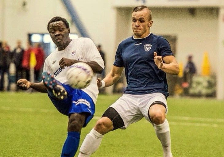 On-fire midfielder Abdul Buduski Sesay makes it 12 goals in 15 games