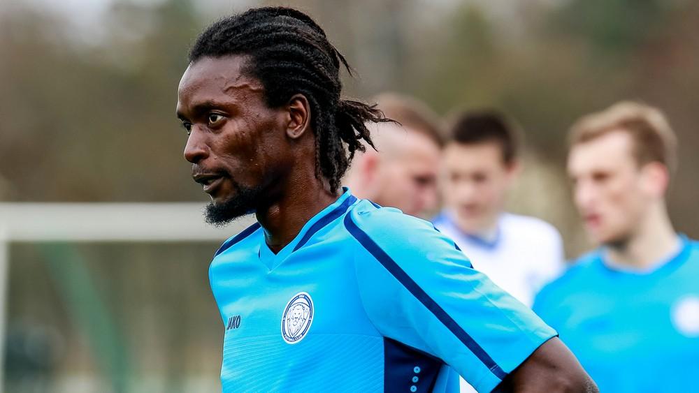 FC Riga's John Kamara dropped from Sierra Leone's 18-man squad in Bouake