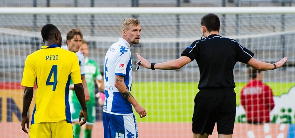 Europa League third round: Kamara's Helsinki edge IFK Göteborg