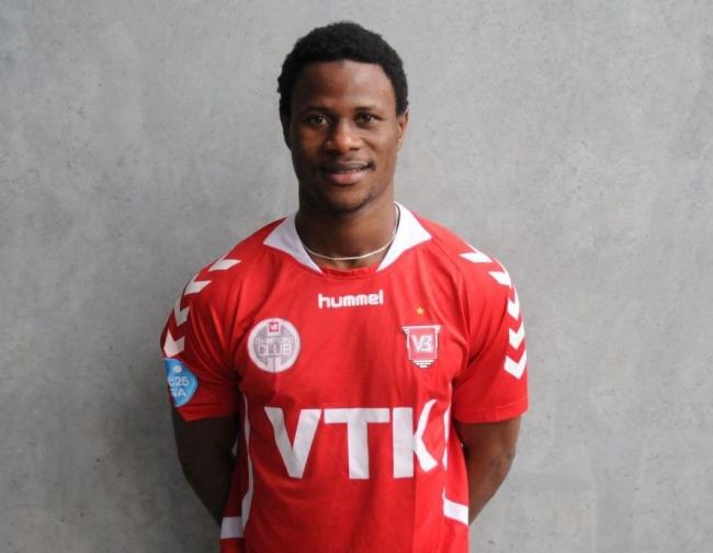 Vejle confirm the signing of Sierra Leone striker Sheka Fofanah