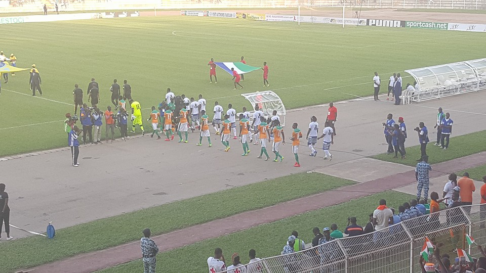Full Time AFCON 2017 Qualifier Ivory Coast 1-1 Sierra Leone