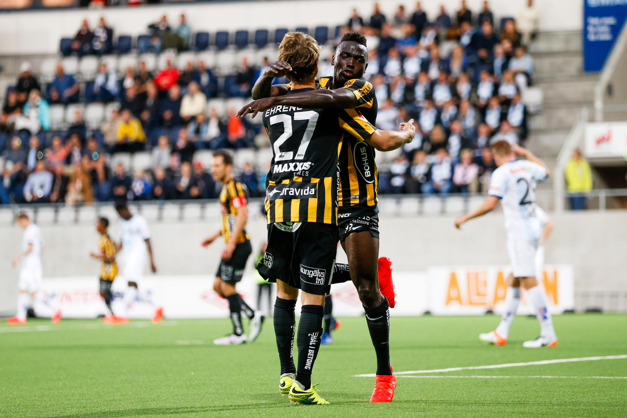 Alhassan Kamara brace rescues a point for BK Hacken