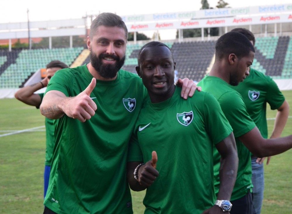 Alfred Sankoh enjoying life at new club Denizlispor