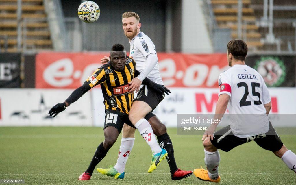 Sierra Leone striker Kamara happy with BK Häcken form