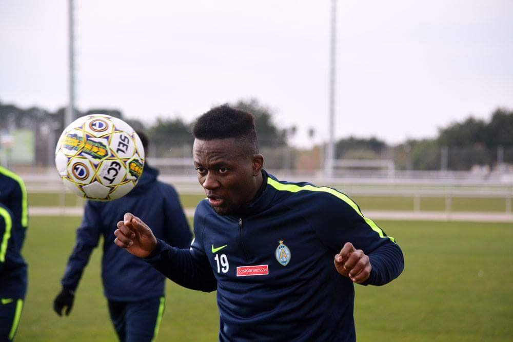 Mohamed Buya Turay looks forward to first pre-season game