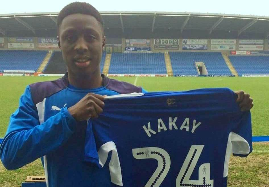 QPR defender Kakay joins Chesterfield on loan deal