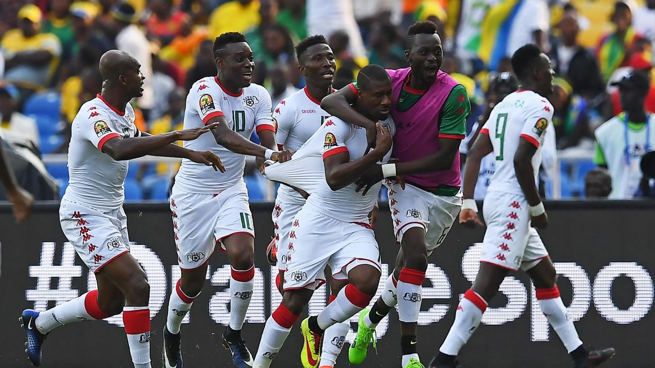 Burkina Faso in Nations Cup semi-finals