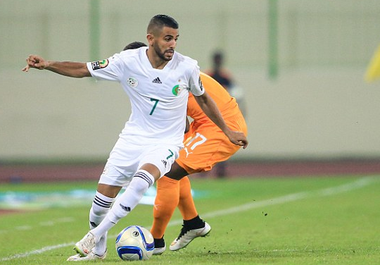 Mahrez double earns Algeria 2-2 draw against Zimbabwe