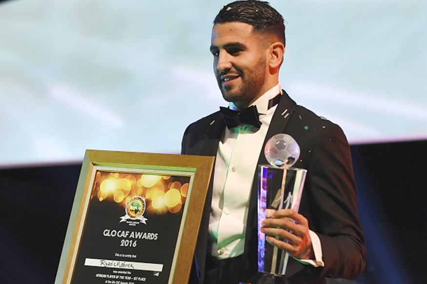 Algerian international Riyad Mahrez named CAF player of the year