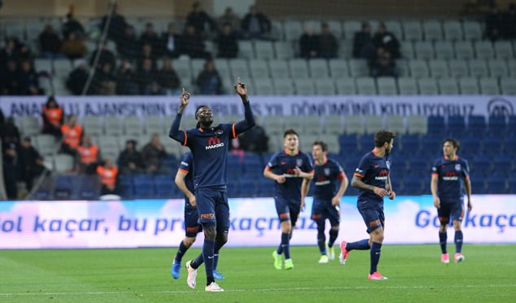 Togo striker Emmanuel Adebayor scores hat-trick in Turkey