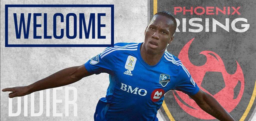 Didier Drogba joins Phoenix Rising as player and part-owner