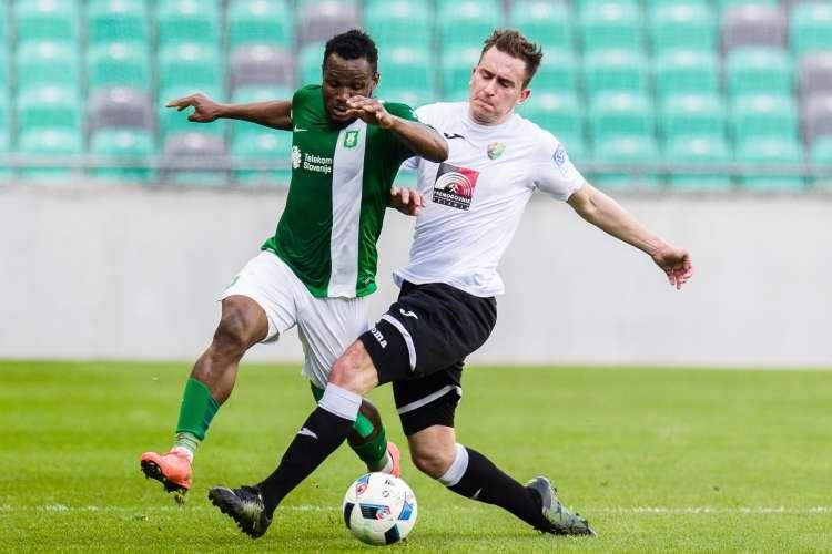 Olimpija attacker Julius Wobay sets sights on Slovenia Cup