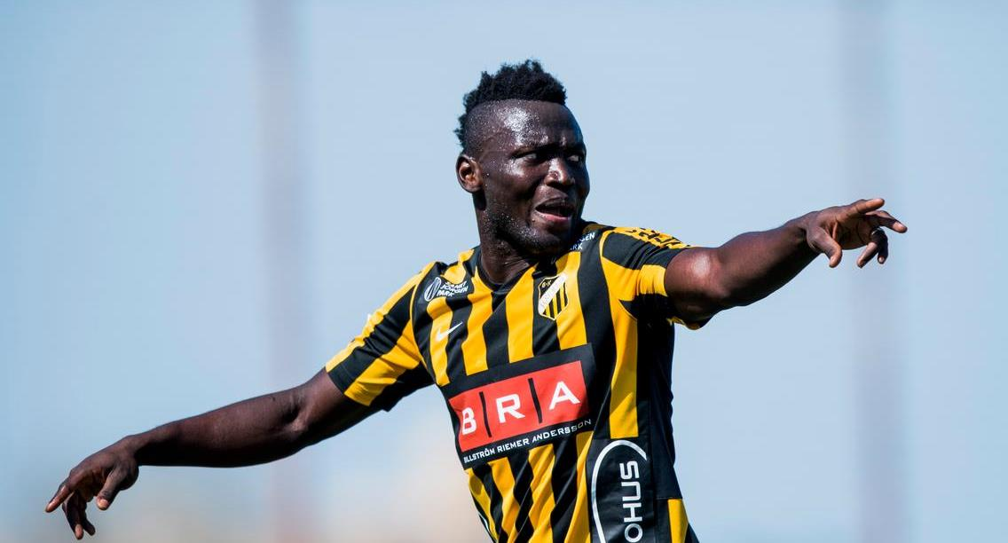 Three goals in six Swedish top flight games for Häcken's Kamara