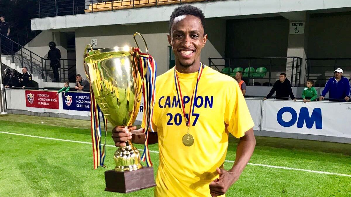 Khalifa Jabbie delighted with FC Sheriff Tiraspol domestic treble