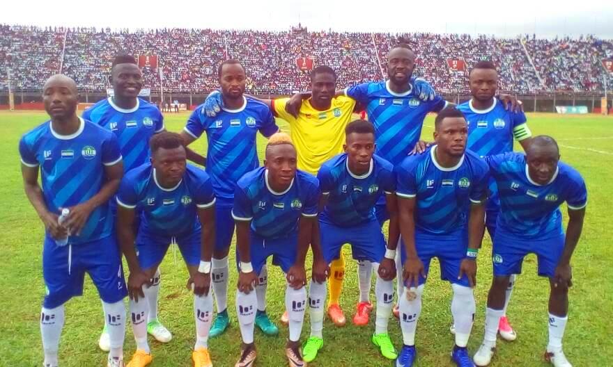 AFCON 2019 Qualifier: Sierra Leone XI against Kenya June 10, 2017 National Stadium, Freetown.