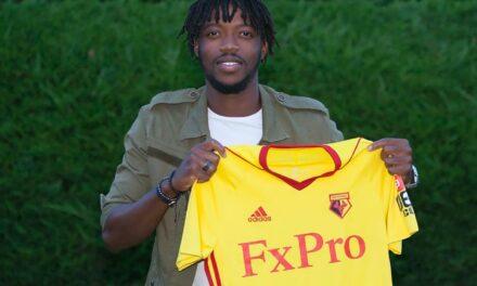 Sierra Leone-born midfielder Chalobah joins Watford