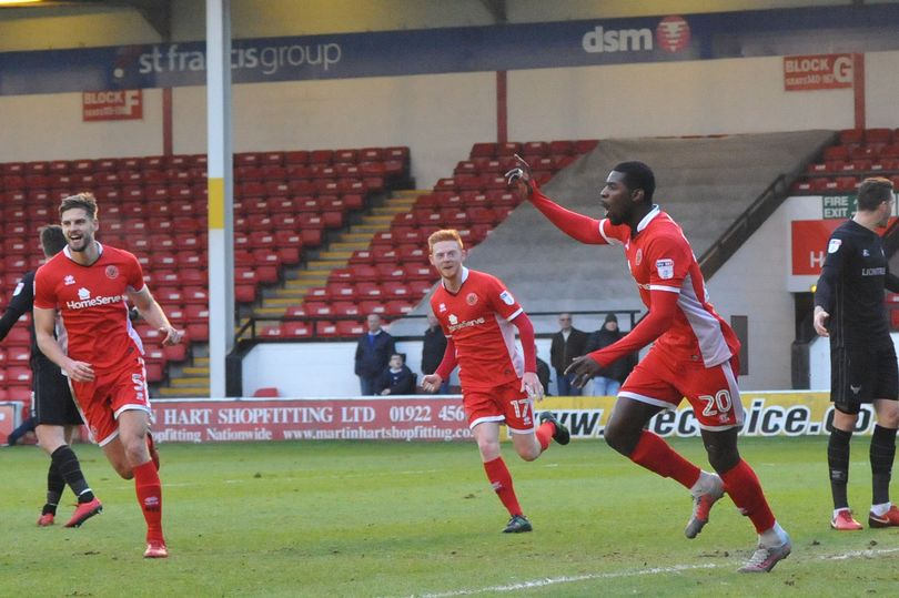 Bakayoko on target as Walsall sink Oxford United