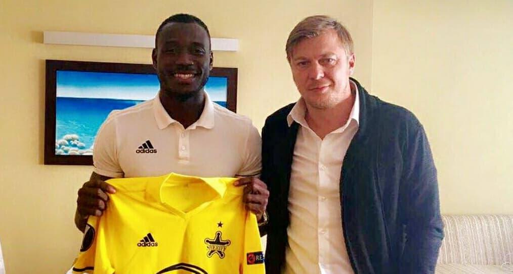 FC Sheriff confirm the signing of Sierra Leone's Kamara
