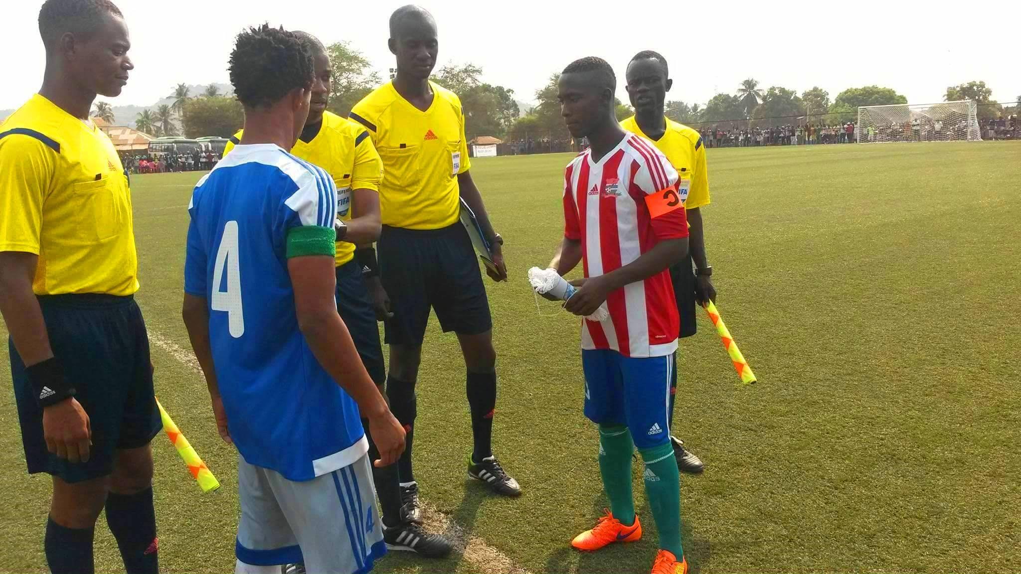 U20 Niger 2019: Sierra Leone to play Guinea Bissau
