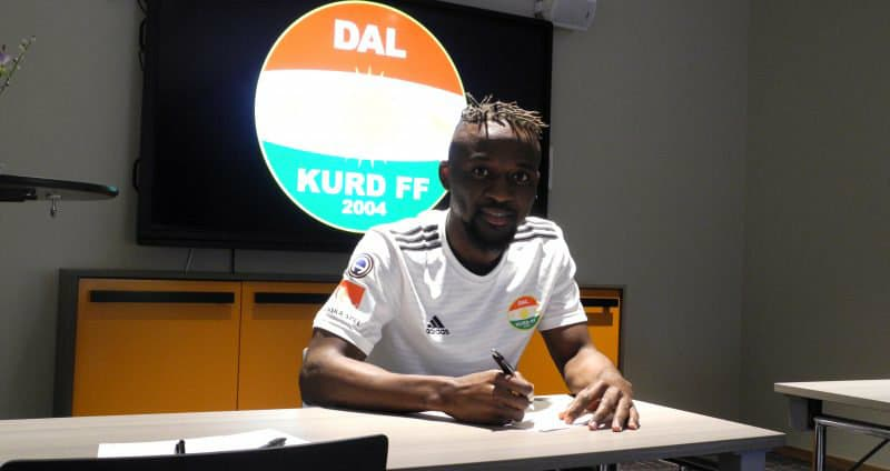 Mohamed Buya Turay pens three-year contract with Dalkurd FF