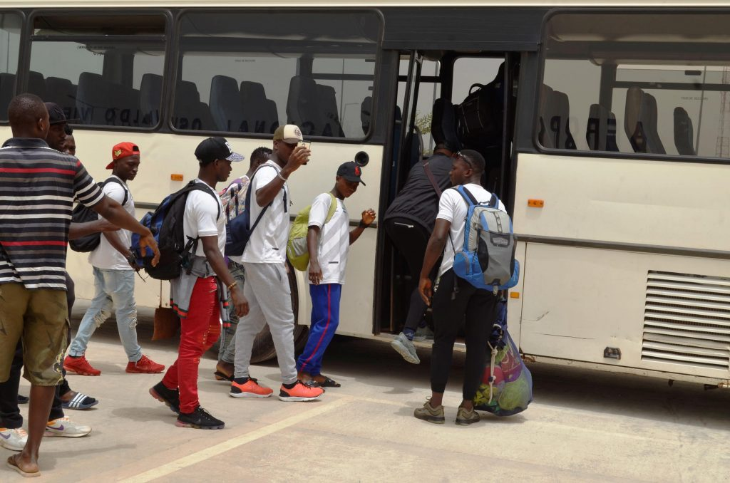 """Sierra Leone Shooting Stars arrived in Guinea Bissau """