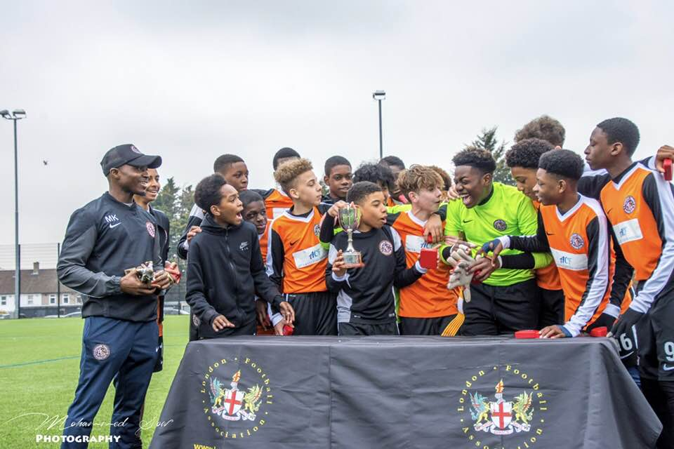 """'Proud' Kamara hails young guns after latest triumph in FA Under 14 Elite Cup"""