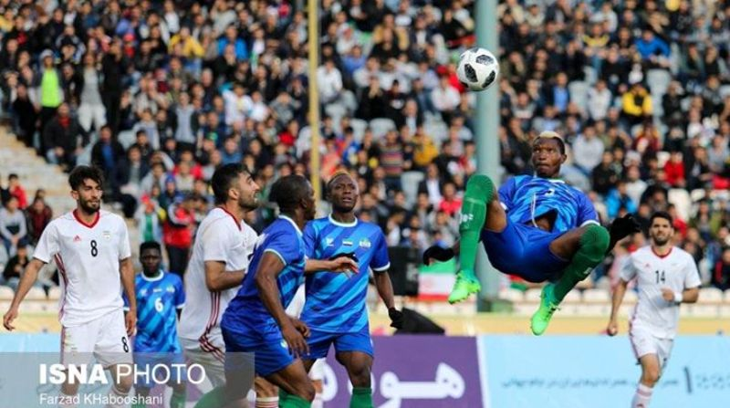 Iran/Sierra Leone friendly under Match-fixing scrutiny