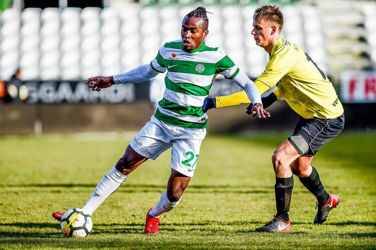 Striker Christian Moses looking forward to NordicBet Liga debut