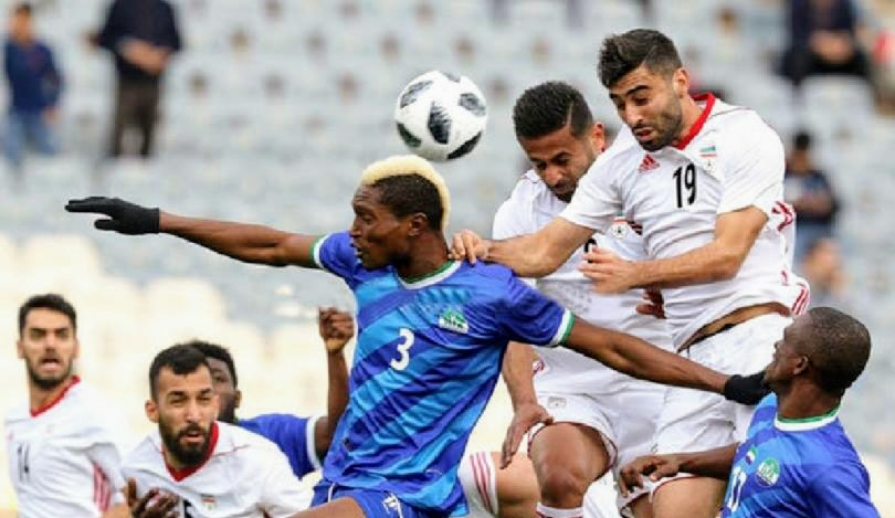 Iran crush Sierra Leone in World Cup Warm-Up