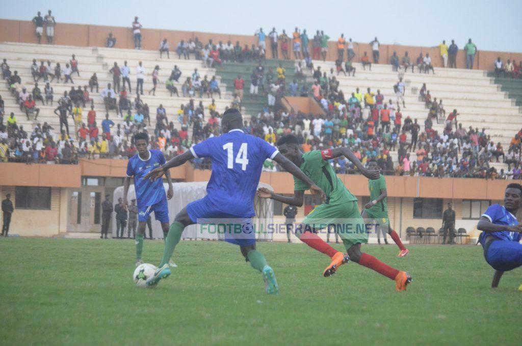 """Sierra Leone v Guinea Bissau at the Estadio Nacional 24 de Setembro Stadium"""