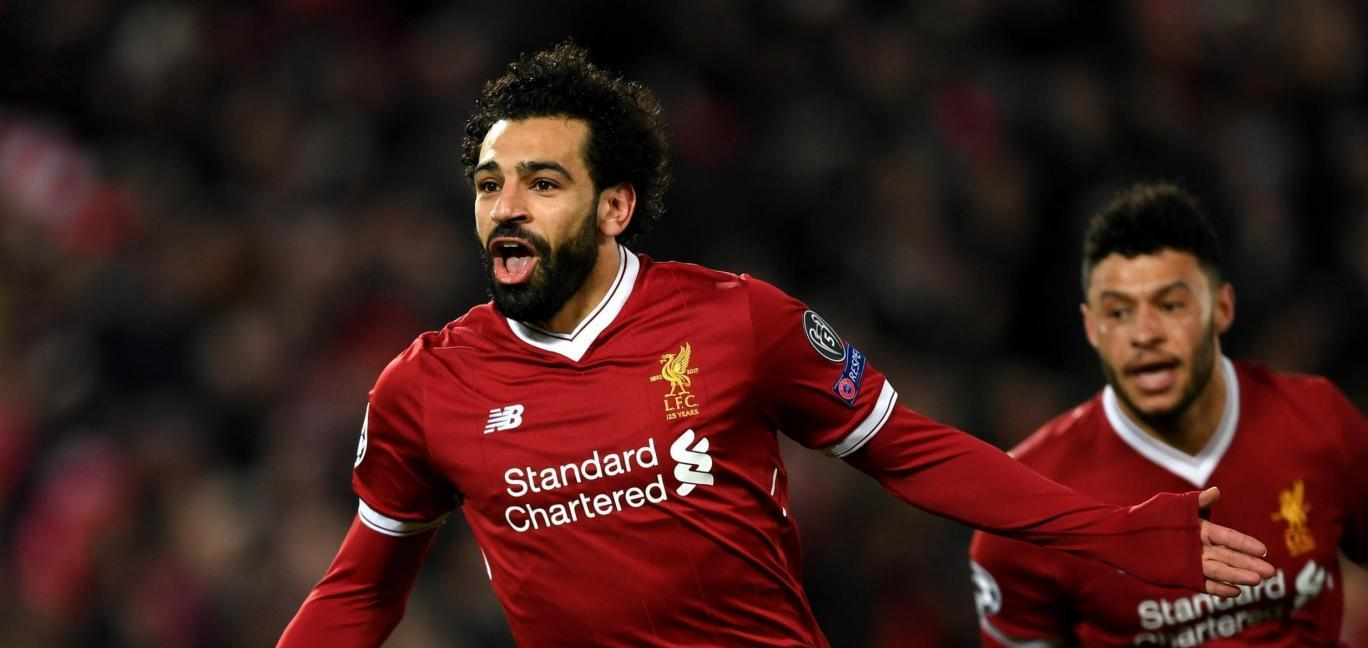 Egypt's Salah ditches interview to applaud fans serenading him