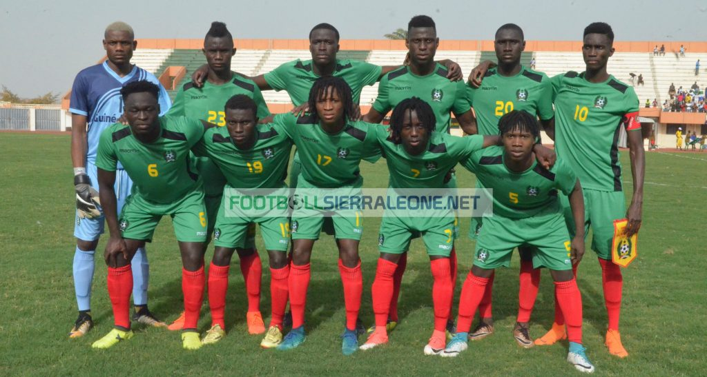 """Guinea Bissau match day squad first team"""