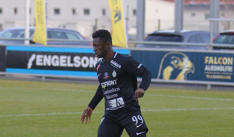 AFC Eskilstuna striker speaks about Bittersweet debut