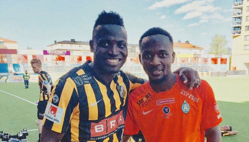 """Pictured Alhassan Crespo Kamara and Mohamed Buya Turay last season Allsvenskan"""
