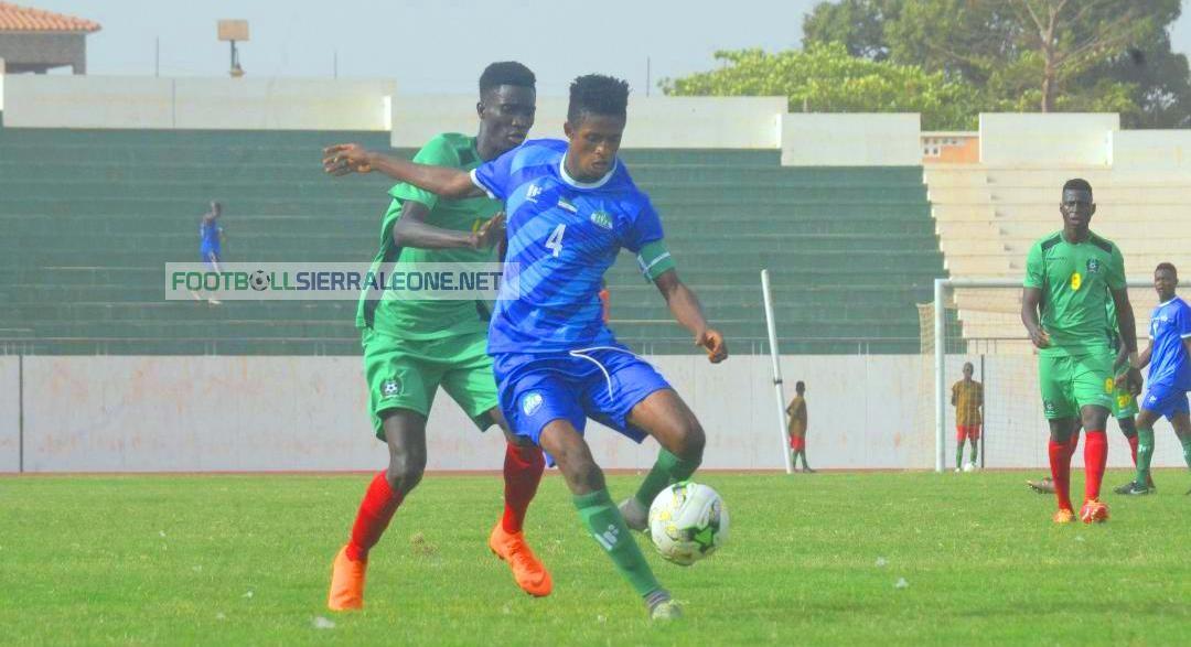 U-20 qualifier: Sierra Leone slip to narrow defeat in Guinea-Bissau