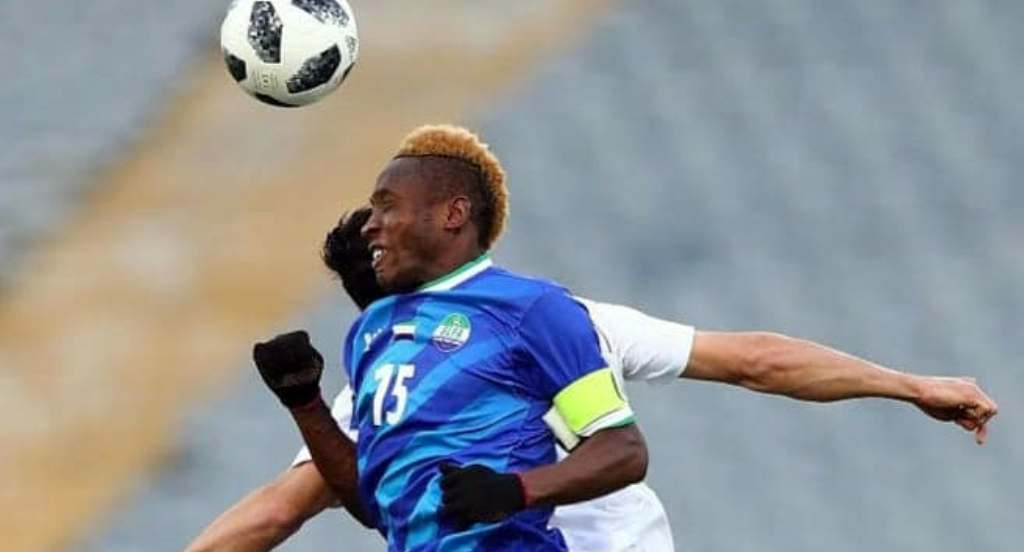 Sierra Leone drop four places in April Fifa ranking