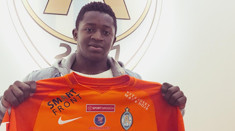 Starlet Michael Kargbo signs with Swedish side AFC Eskilstuna