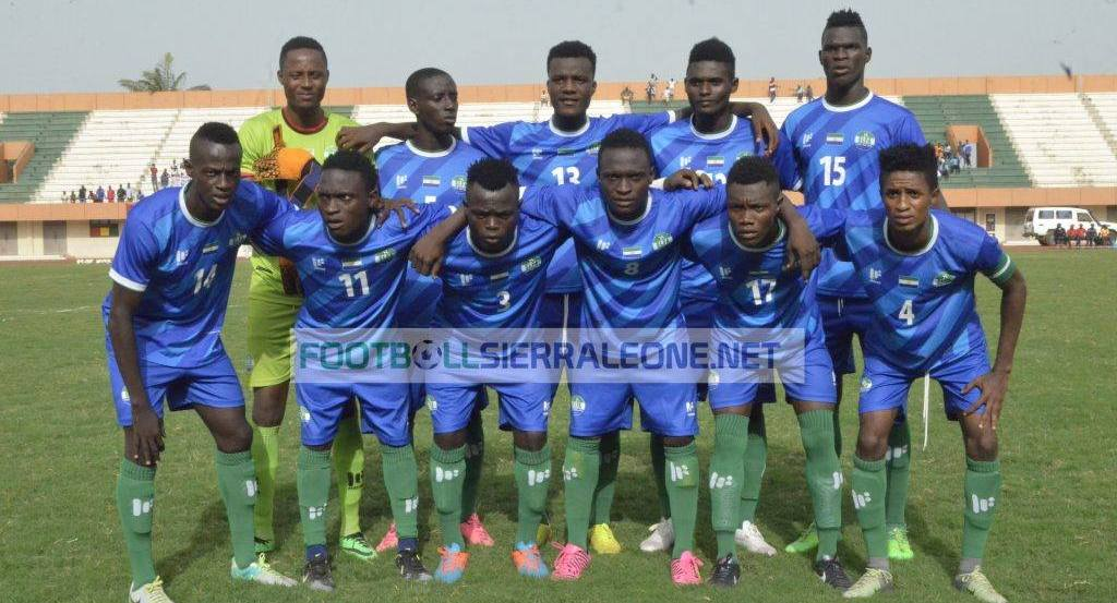"""U20 Shooting Stars of Sierra Leone"""