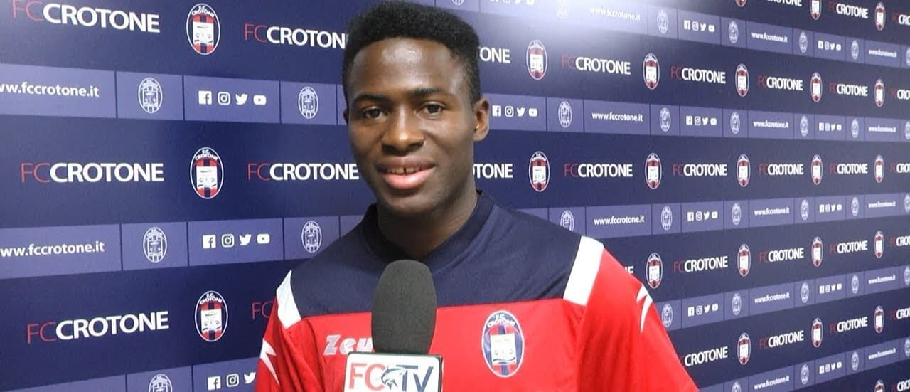 """Italian side Crotone sign Sierra Leonean youngster Kargbo"""