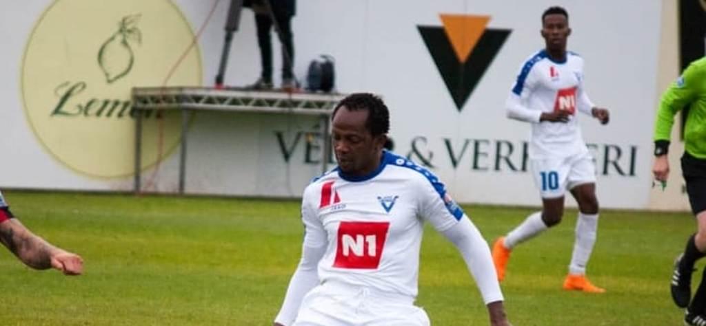 Midfielder Ibrahim Sorie Barrie enjoying life at Víkingur Ólafsvík