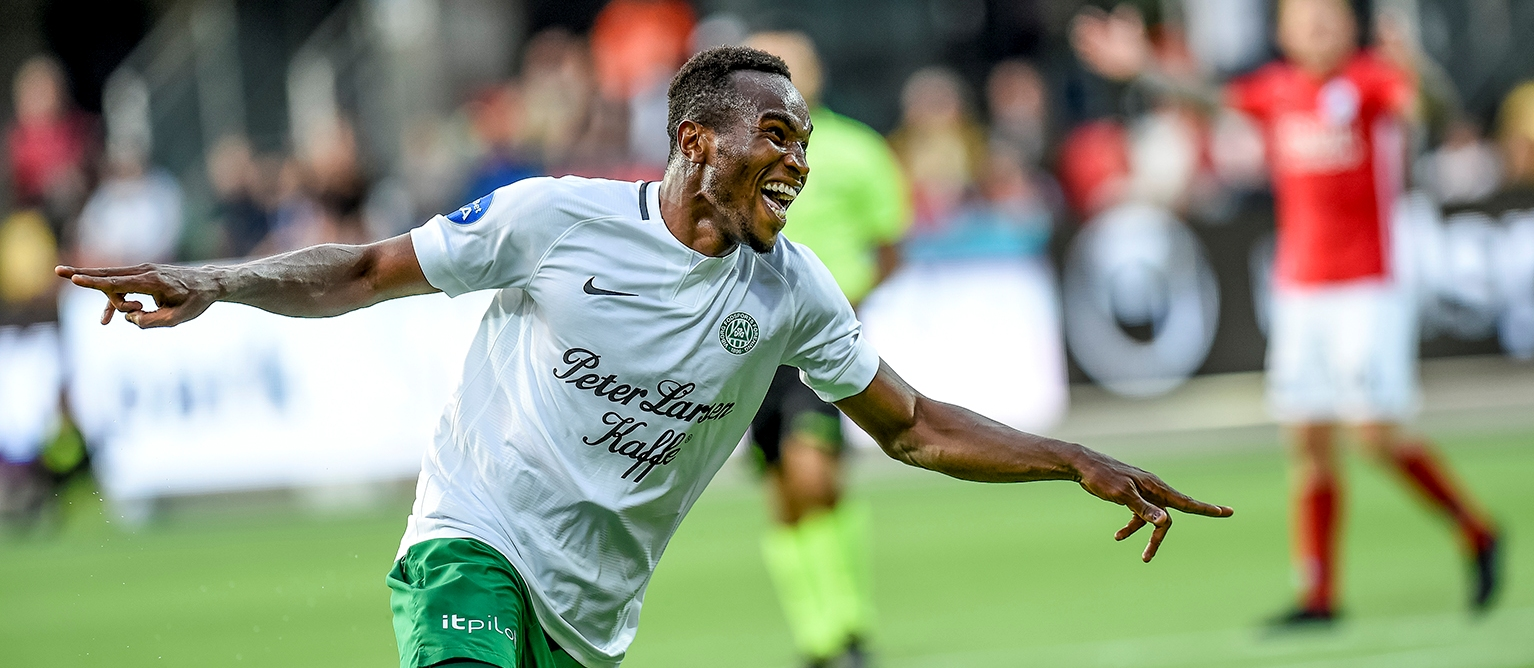 Sierra Leonean striker Christian Moses wins Viborg's Goal of the Year