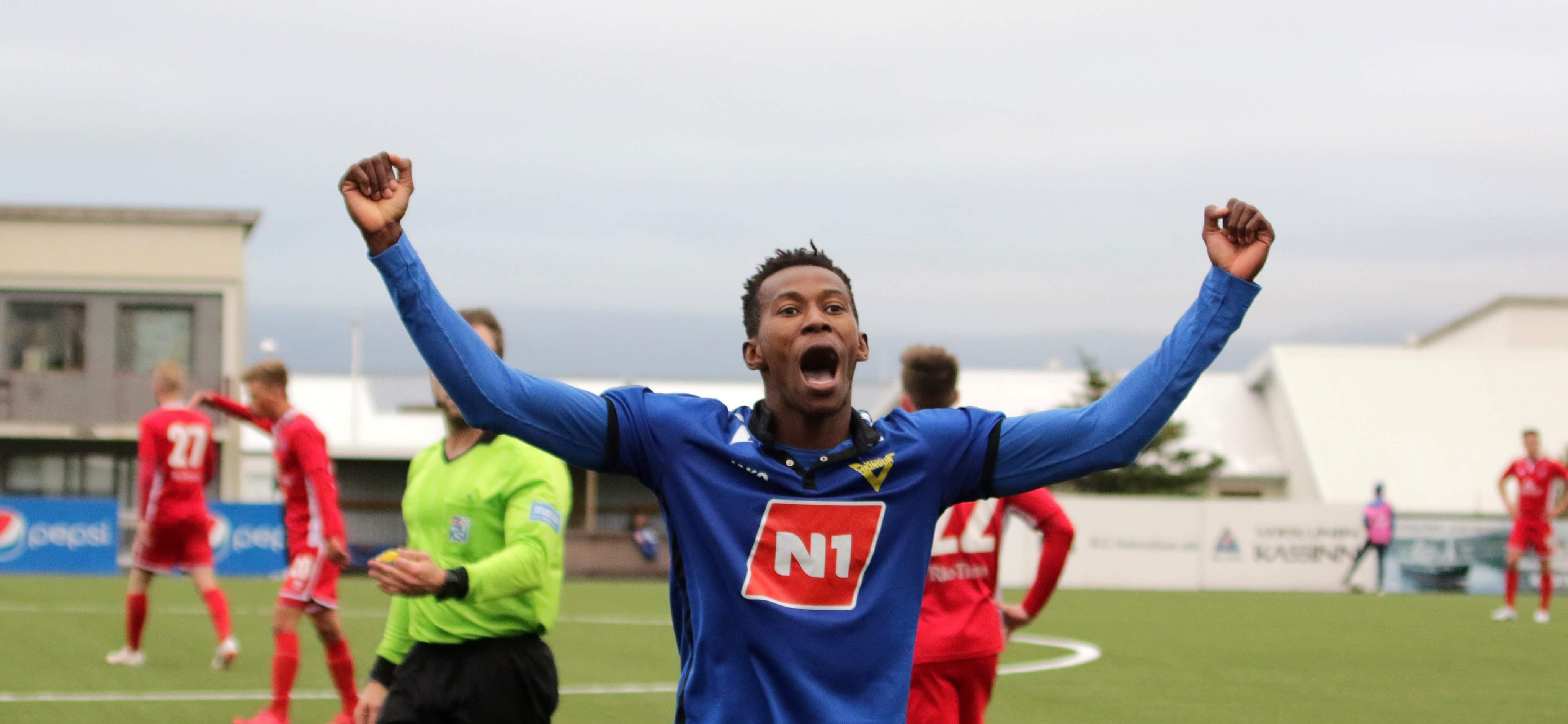 Kwame Quee scores brace in four-goal thriller