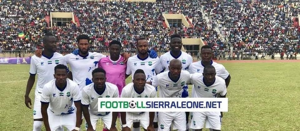 Sierra Leone's doubleheader against Ghana called off