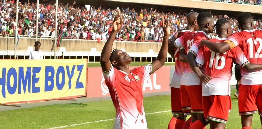 """#AFCONQ: Kenya stay top of Group F after beating Ethiopia in Kasarani"""