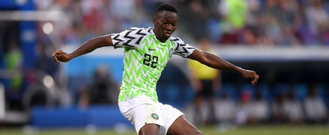 """""""Kenneth Omeruo played for Nigeria at the World Cup in Russia, and has 41 caps for the Super Eagles."""""""